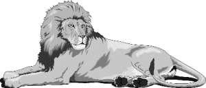 kämpfen der löwe